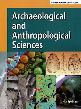 Buchcover Journal of Archaeological and Anthropological Sciences