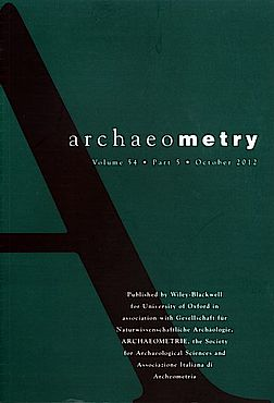 Buchcover Archaeometry