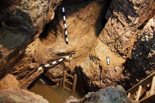 Mittelalterliches Bergwerk in Dippoldiswalde