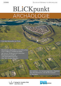 Blickpunkt Archäologie 3/2018